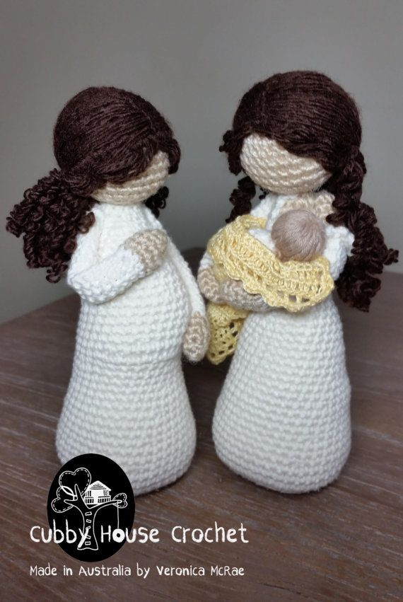 Crochet Pattern Package Mother-to-be EVE and by CubbyHouseKids