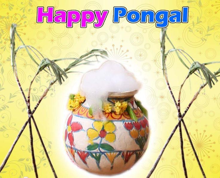 Happy Pongal Pot Greeting http://hdcomputerwallpaper.com/happy-pongal-pot-greeting/