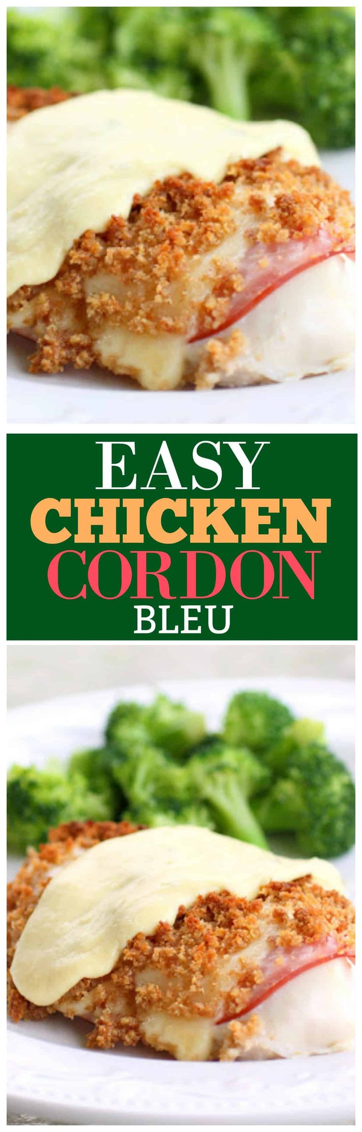 This Easy Chicken Cordon Bleu is one of those go-to chicken recipes that you will keep going back to. It's a great casserole for company and a chicken dinner that everyone will love.
