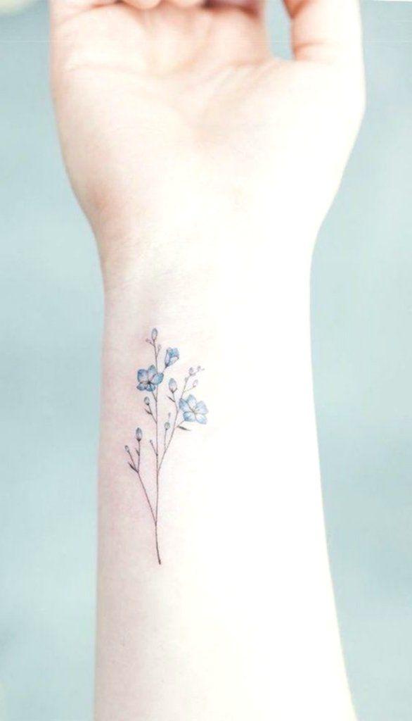 100 Trending Watercolor Flower Tattoo Ideas For Women Classy