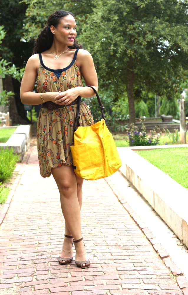 Ellington Handbags - love the bright yellow!