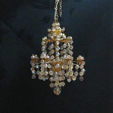 Dollhouse Chandelier By Marmades On Etsy 155 00