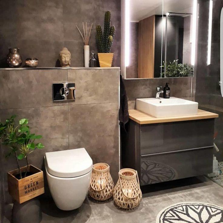38 beliebtesten Ideen für das Badezimmer-Design, die sich im Jahr 2019 ändern werden