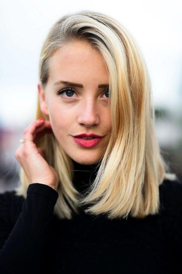 20 Glanzende Diy Frisuren Fur Mittellange Haare Zu Weihnachten Frisuren Bob Frisur Und Frisuren Schulterlang