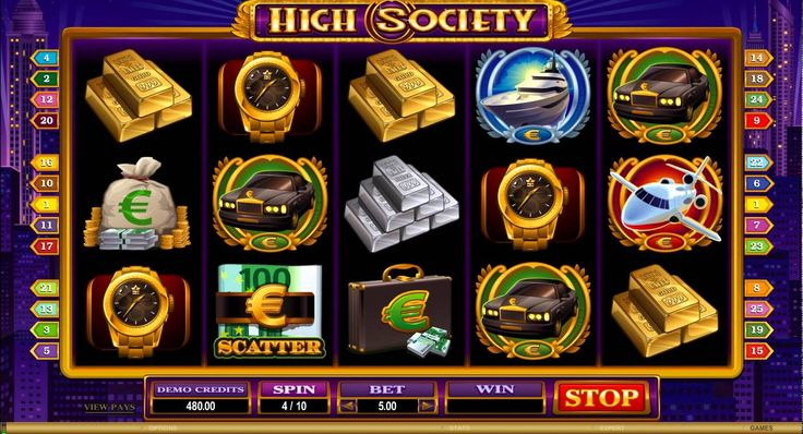 €,$,£ 500 Free Bonus for New Players. Quick Video of the High Society Slot Game from Euro Palace Online Casino. More info on this game and other great online slots available here - http://bit.ly/1iThOqW  #onlineslots #slots #highsocietyslots #newslots #casinoslots #moneyslots www.bonusplaycasinos.com