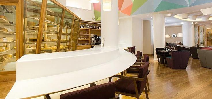 Cheese Bar Madrid, una delicia para amantes del queso. ¿Has estado?     #queso #madrid #queserias #gastronomia