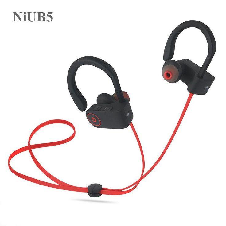 NiUB5 U8 Bluetooth 4.1 Sport Earphone Handfree Wireless Bluetooth Headphones