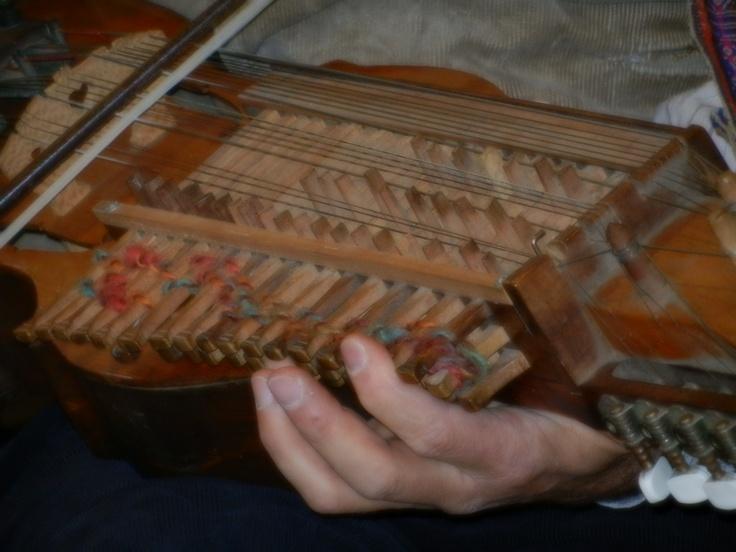 A unique instrument (detail)