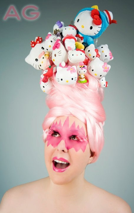 holy shit - Hello Kitty Wig SPECIAL ORDER