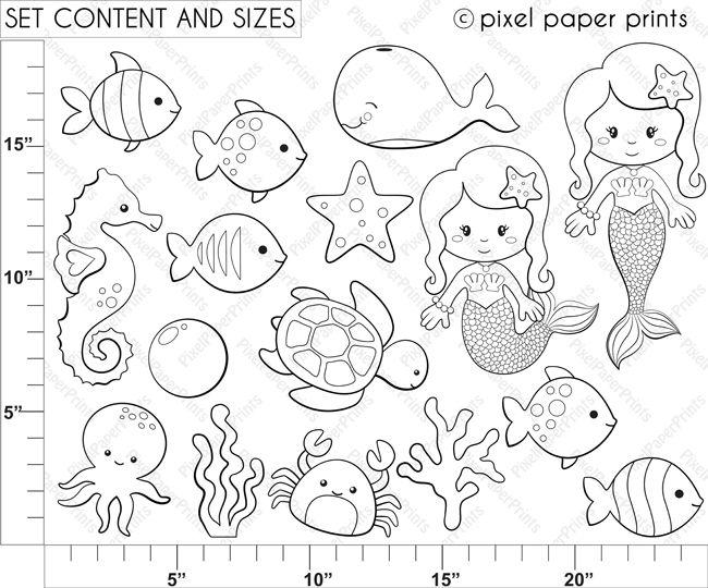 Underwater Friends Preschool Worksheets. Underwater. Best