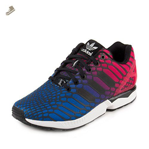 Adidas Womens Originals ZX Flux Running Shoes (10) - Adidas sneakers for  women (