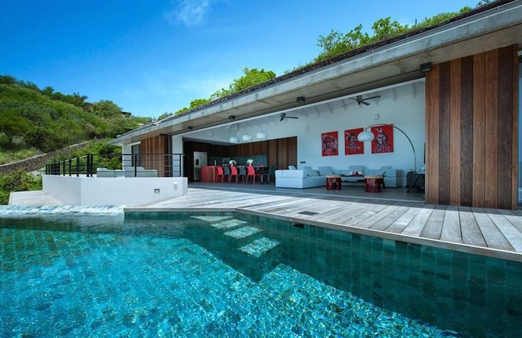Villa Surf View St Barts - 3 br luxury villa to rent in Toiny