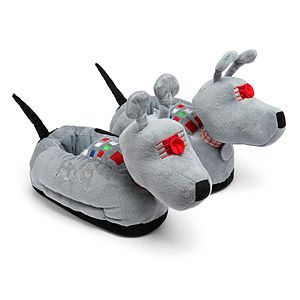 Exclusive Doctor Who K9 Slippers | ThinkGeek