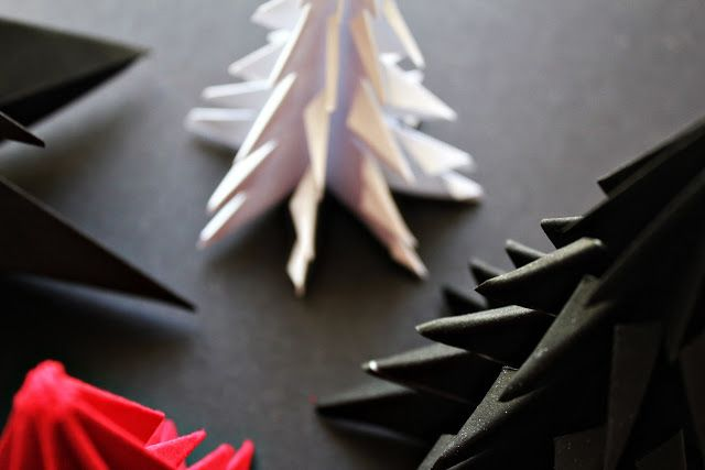 DIY :: Origami Christmas Tree