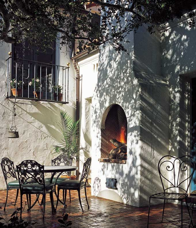 17 best images about spanish style hacienda feel on for Spanish style outdoor fireplace