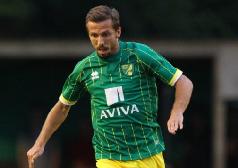 Gary ONeil scored twice in Norwich City's 10-0 friendly win at Hitchin.  Picture by Paul Chesterton/Focus Images Ltd