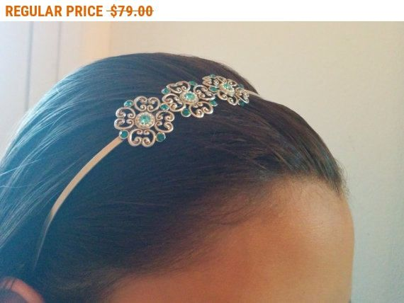 20% OFF - CIJ SALE Delicate Flower Hair Band - Bridal Hair Accessories - Bridal Headband - Bridal Head Piece - Wedding Hair Accessory - by AlinYerushalmi from AlinYerushalmi. Find it now at http://ift.tt/2tAgztm!