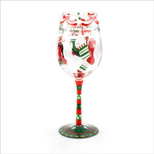 71 best holiday wine glasses images on pinterest for Christmas painted wine glasses pinterest