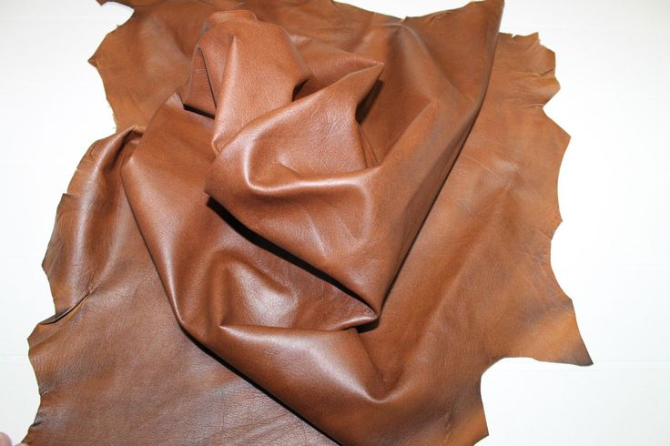 Italian Lambskin Leather Skin Hide Skins Hides Tan Distressed 7SQF | eBay