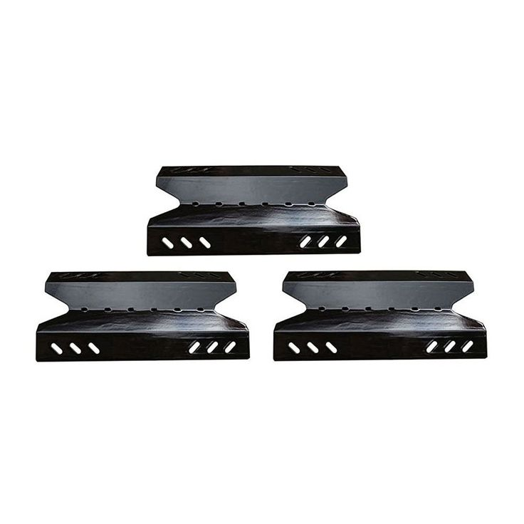 Porcelain Steel Heat Plate Replacement for BBQ Burner Cover 96431 (3-pack)