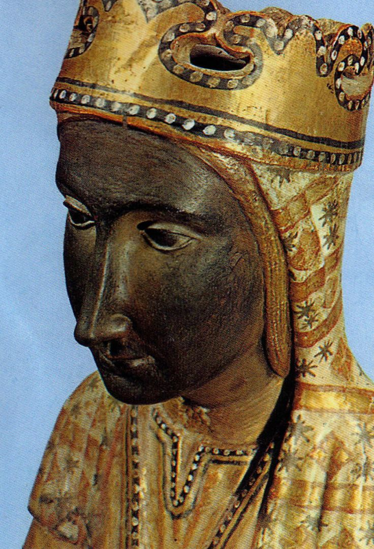 La Moreneta...one of the black madonnas from Europe and patron virgin of Catalunya