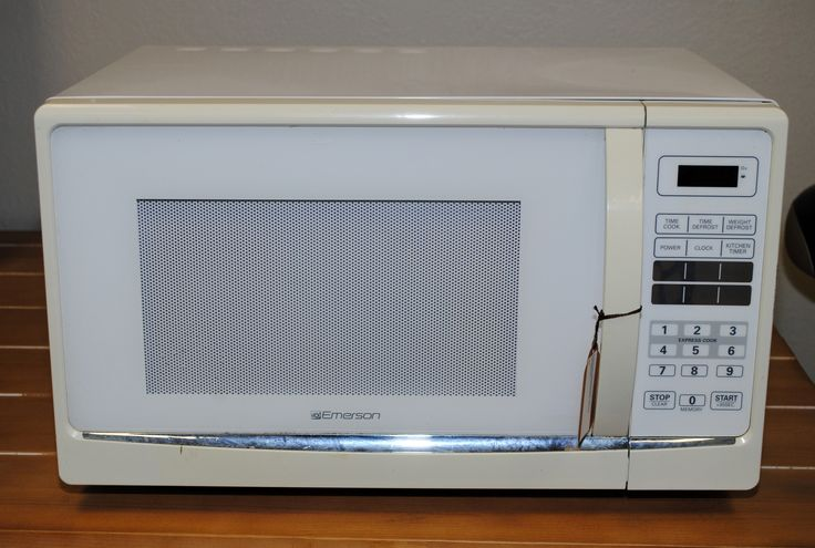 Emerson Microwave, White
