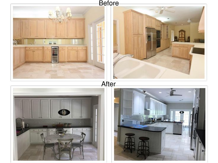 Our Latest Kitchen Cabinet Painting And Refinishing Job Completed In Vero Beach Florida