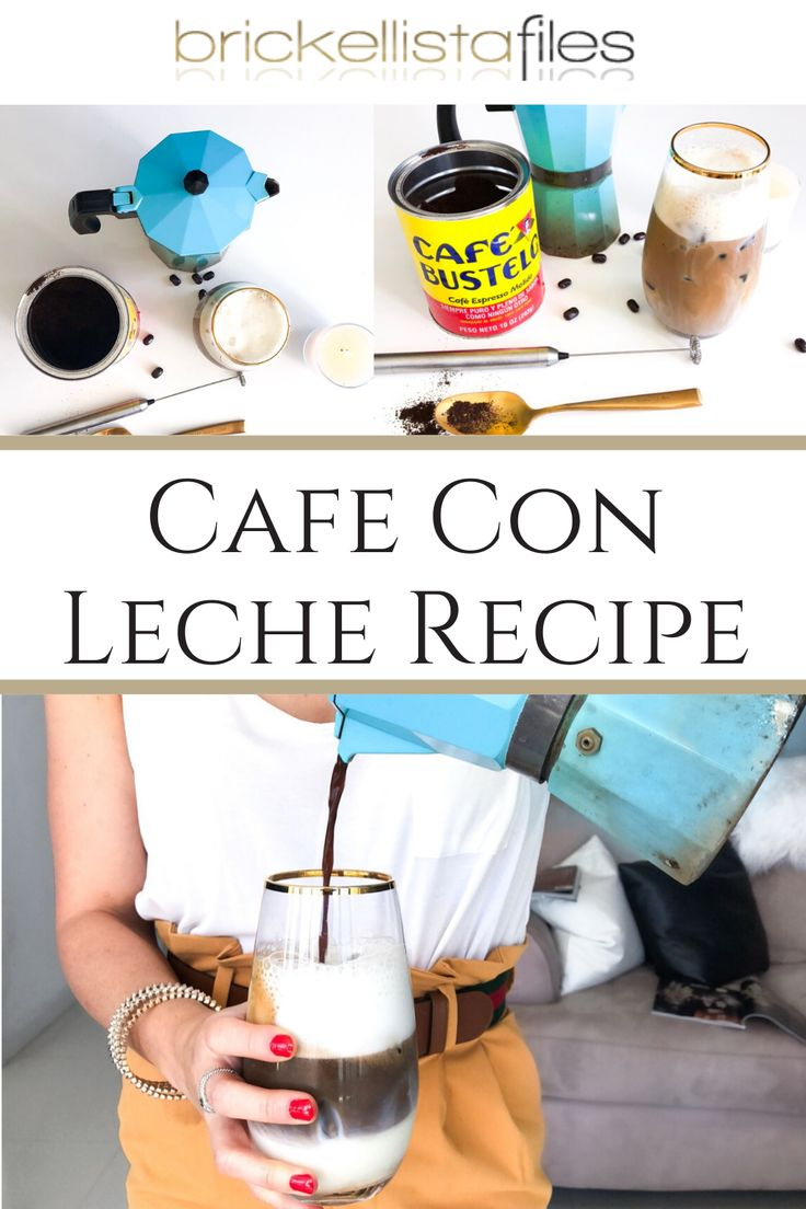 How to Make a Cuban Coffee Cafecito Inspired Iced Coffee