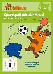 DVD Die Sendung mit der Maus 4 - Sportspaß mit der Maus!