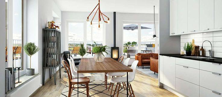 Solterrassen, Umeå - Nya lägenheter - Skanska Nya Hem