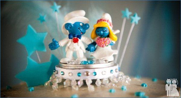 Cake Topper dei Puffi