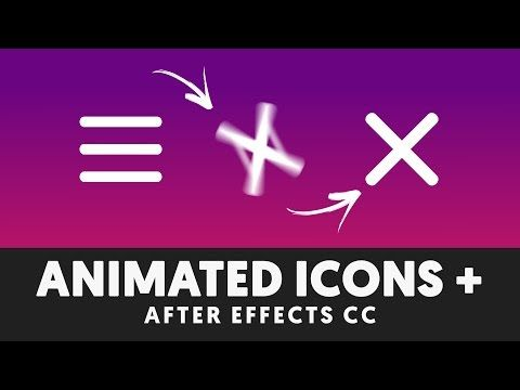 T036 Animated Icons in After Effects Tutorial (Volume 1) - YouTube