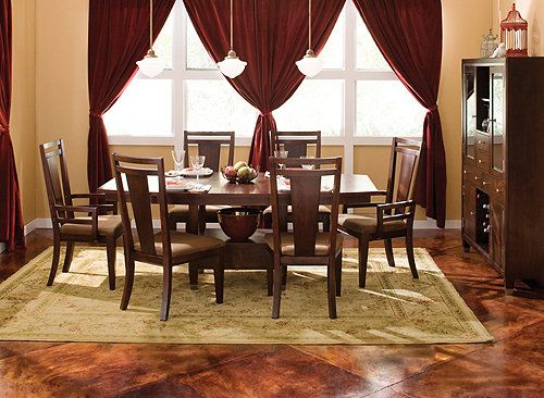 Northern Lights 7 Pc Dining Set Dining Sets Raymour And Flanigan Furnitu