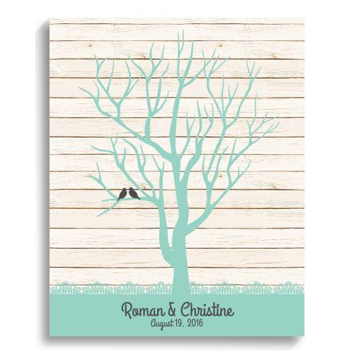 Extra Large Oak Thumbprint Guest Book Tree 26x20 Customized: 1000+ Ideas About Fingerprint Guest Books On Pinterest