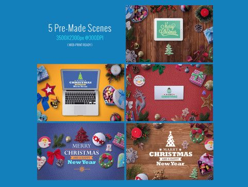 UI8 — Products — Winter Holidays Scene Generator