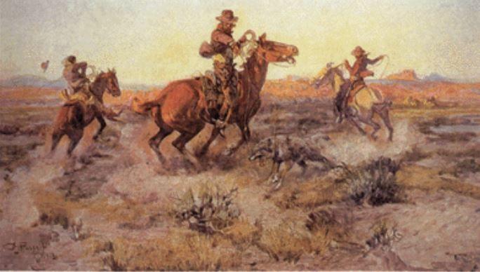 Charles M Russell Old West Art Amp Illustration Pinterest