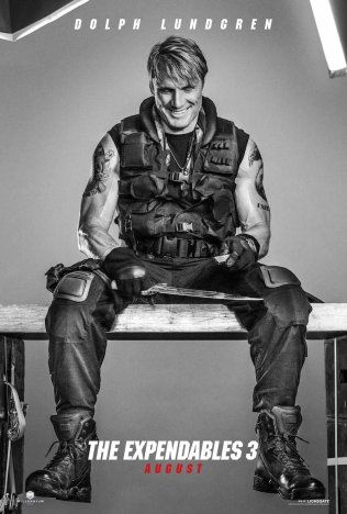 Who Are The New Actors for the Expendables 3 Movie? | http://www.royalfashionist.com