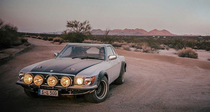 Oldtimer verkopen en kopen – youngtimers – klassiekers van de toekomstVideo: de woestijn in met een Mercedes 500SL Rally - thecoolcars.nl