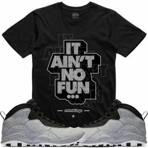 2d015f864ce ... where can i buy 4d0b1 0ad1b Retro Kings T-Shirt Jordan 10 Light Grey  Smoke ...