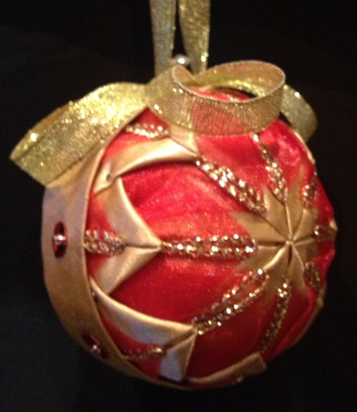 Handmade christmas ornament ornaments pinterest for Unique christmas ornaments homemade