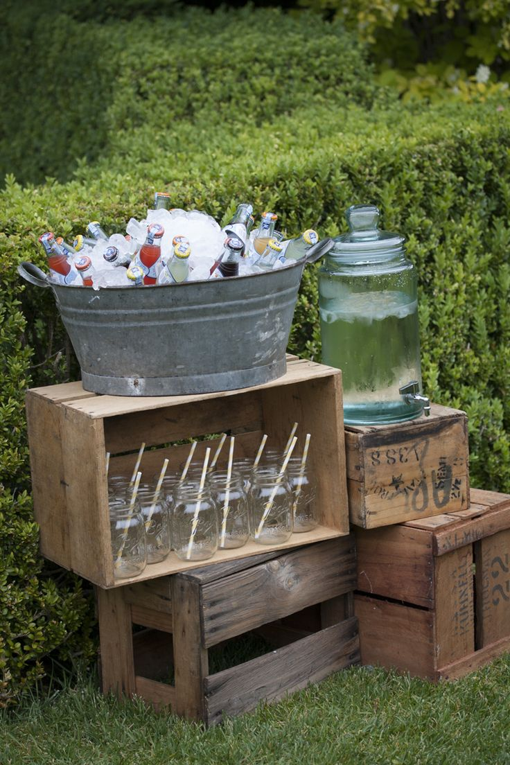 vintage tin bath for drinks and ice – Style my day – Wedding and Event – Hire and styling