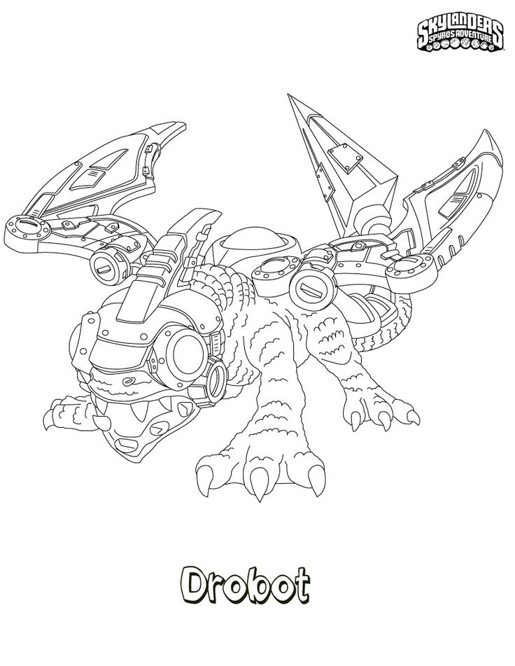 Free Printable Skylander Giants Coloring Pages For Kids | 951x736
