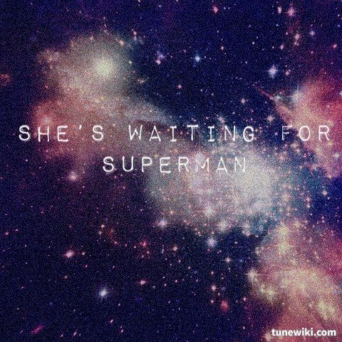 "-- #LyricArt for ""Waiting for Superman"" by Daughtry"