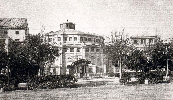 Circo Teatro Price en Paseo de Recoletos, 1870 - Portal Fuenterrebollo