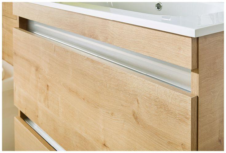 All qube furniture has a smart, integral handle  #bathroomfurniture