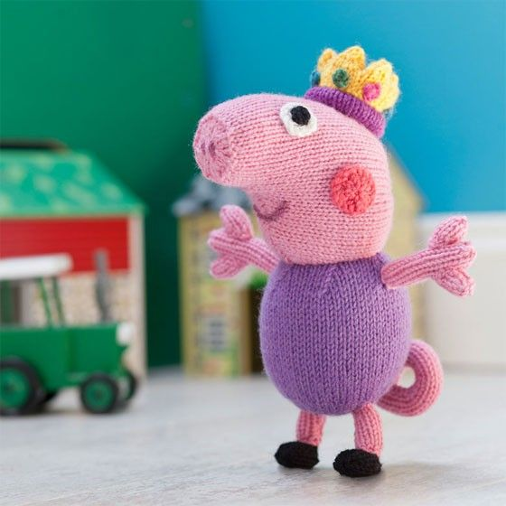 Knitting Patterns Peppa Pig Toys : 28 best images about Christmas with Peppa! on Pinterest Toys, Knitting patt...