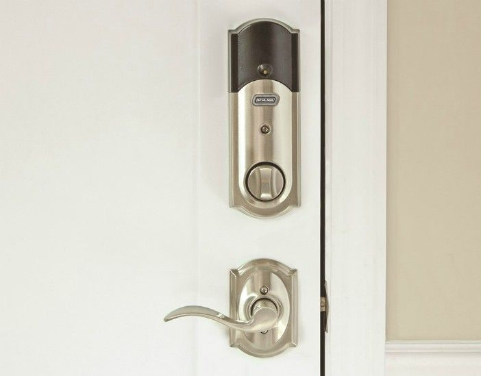 Wouldn T You Like To Receive Smartphone Notifications Whenever The Lock Is Used So You Can Keep Track Of Who S Going In And Smart Deadbolt Schlage Smart Lock