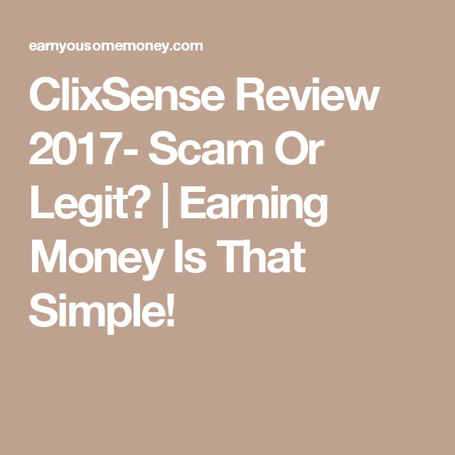 ClixSense Review 2017- Scam Or Legit? | Earning Money Is That Simple!