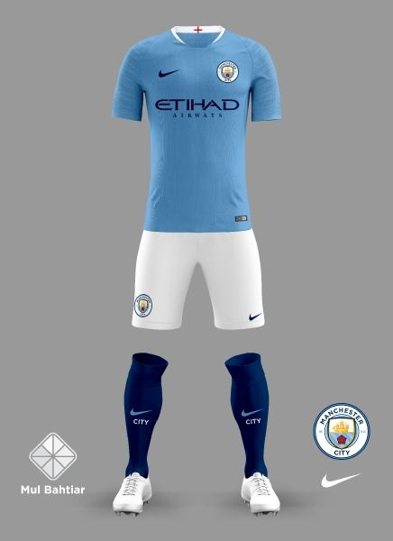 89985cf97 Manchester City 2018 2019 Home Jersey