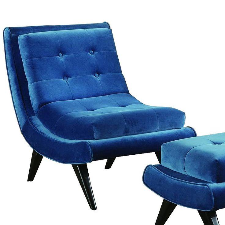 Best Armen Living Quinto Velvet Lounge Accent Chair Velvet 400 x 300